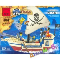 """Конст-р""(Brick) ""Пиратский корабль"""